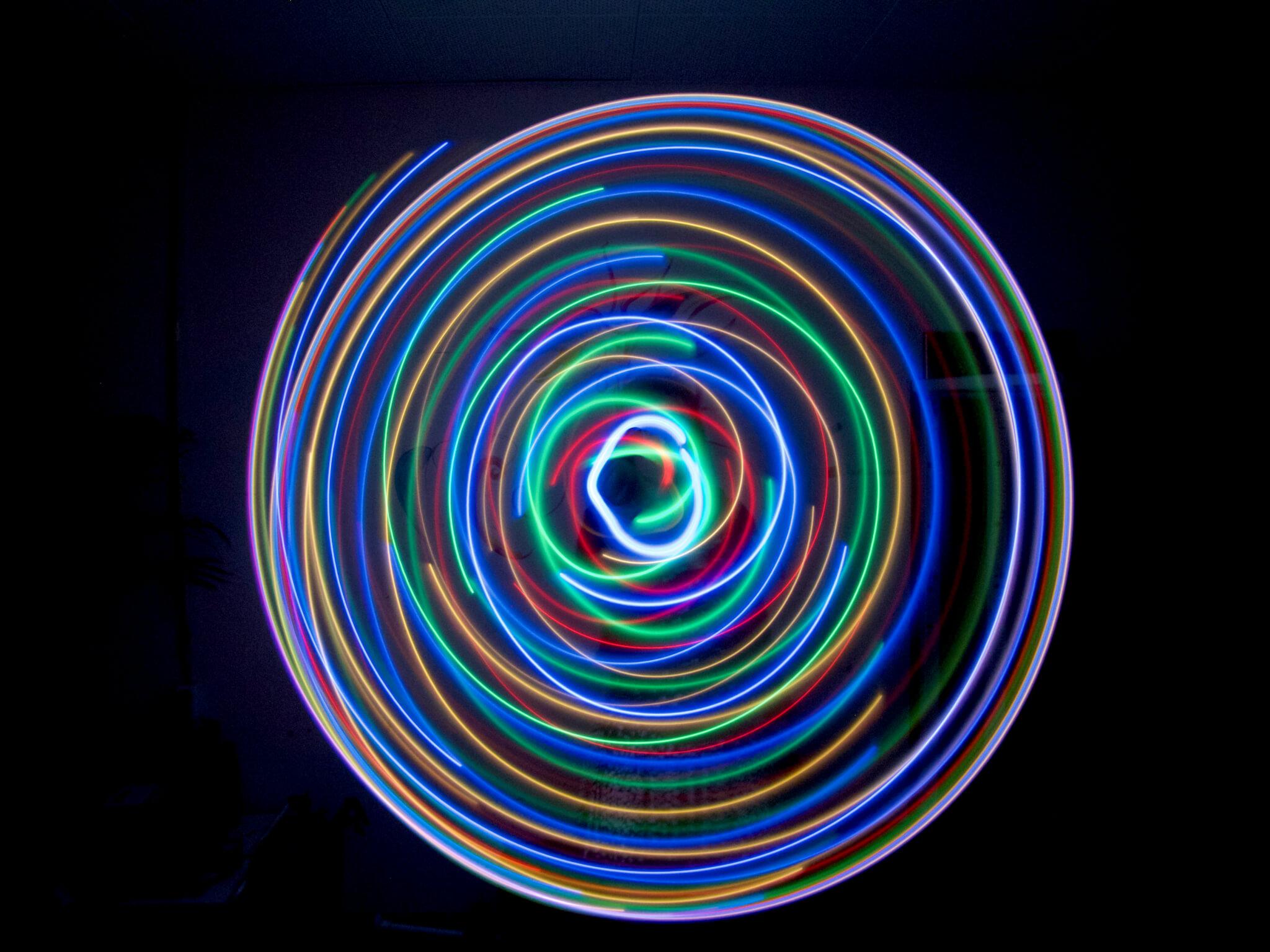 LED hoepel