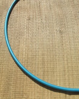 Polypro hoepel turquoise metallic