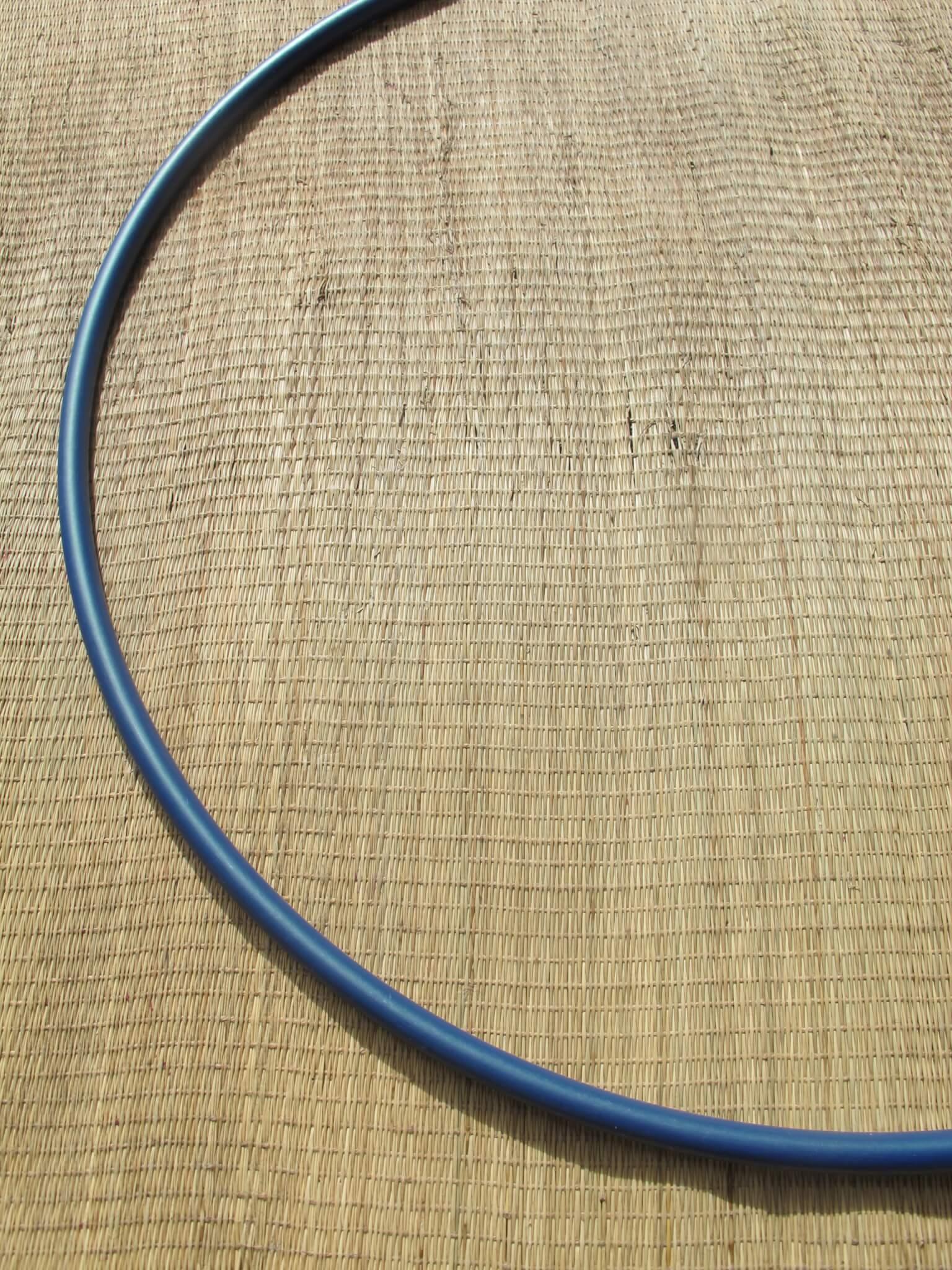Polypro hoepel navy blauw metallic